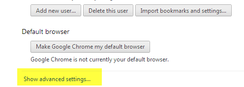 Google Chrome (PC and Mac) Disabling Pop-up Blockers in Chrome is the same whether you are using a PC or Mac computer.