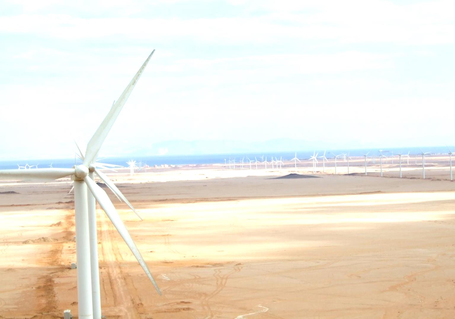 - In the period between 1992-1995, a demonstration wind farm were