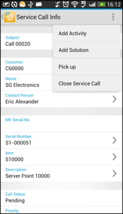 Key features Service contracts and service calls Review service contracts View details of and search for service contracts Enter the item s serial number or keywords to search for and view customer