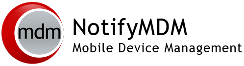NotifyMDM Device Application User Guide Installation and Configuration for Windows Mobile 6 Devices End-of-Life Notice Please note that GO!Enterprise MDM server version 3.6.3 is the last to officially support the NotifyMDM for Windows Mobile 6 application.