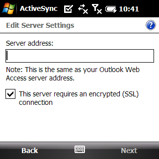 Setup an ActiveSync Account Setting up an ActiveSync account that interfaces with the NotifyMDM server secures corporate information that is transmitted wirelessly to your device.