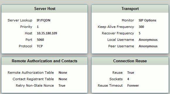 Configuring the Sonus SBC 2000 with Cisco Unified Call Manager 10 5