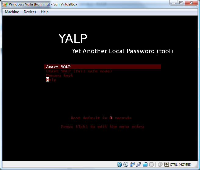 Procedures and Tools to Reset or Recover the Administrator Password