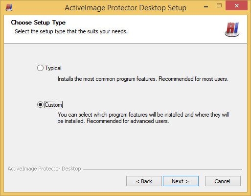 To connect to ActiveImage agent on remote host computer using ActiveImage