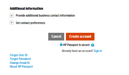 First Time users Initial Set up- - To use Support Case Manager for the first time, you need to register with the HP Support Center portal. Registration is free and does not require HP assistance.