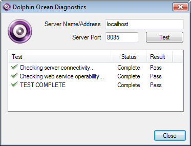 Configure Routers By default, the Dolphin Ocean Server is configured to use port 8085 to send and receive data.