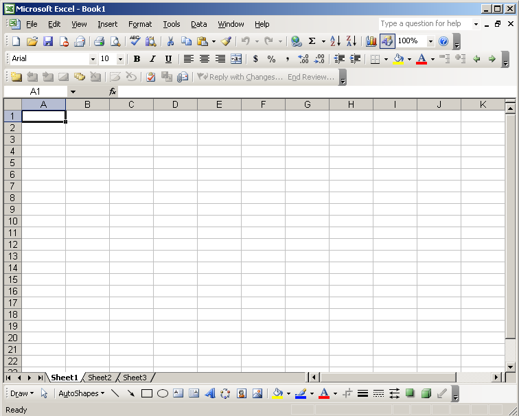 Most Modeling is Done Here! It is great tool, but Excel was never designed for complex calculations.