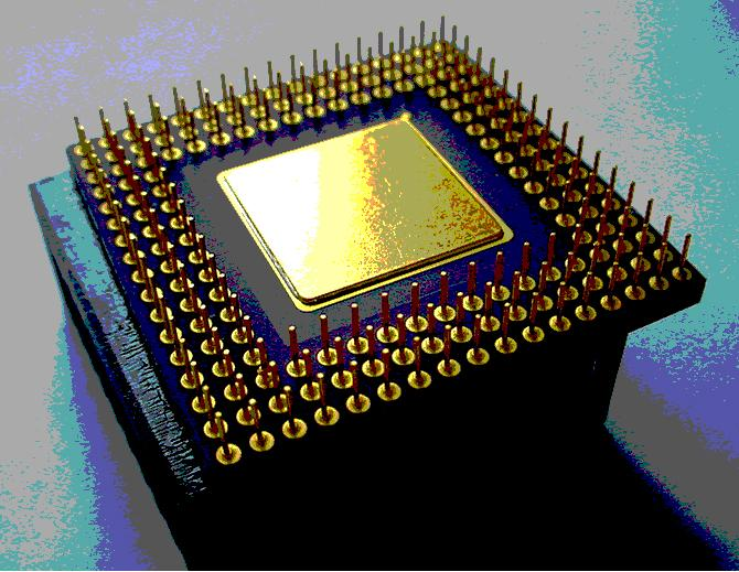 New models of chips are multi-core and contain one or