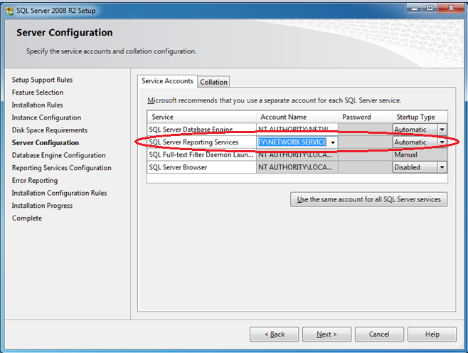 On this page, ensure that the Reporting Services option is selected under Instance Features, and click Next: Figure 13: Feature Selection Page 2.