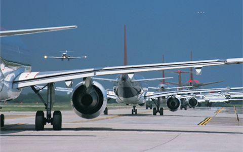 aviation system is that there are not enough runways and terminals to cope with demand.