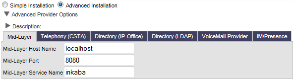 4.3 one-x Portal for IP Office Configuration The initial one-x Portal for IP Office configuration is done using web browser access to the administrator address.