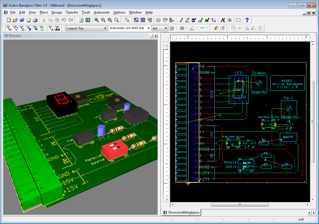 Nvrh Simulace A Oven Elektronickch Obvod Na Platform Ni Best Practices In Printed Circuit Board Design National Instruments Custom Pcbs Signal Conditioning Low Cost Mini System