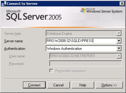 """C:\Program Files (x86)\microsoft SQLServer\100\Tools\Binn\VSShell\Common7\IDE"" And enter the command: For SQL Server 2005: >runas /user:<domain>\<user>ssmsee."
