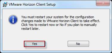 IH Anywhere for Windows Installation Internal Access At the Completed the VMware Horizon Client Setup Wizard window, click Finish.