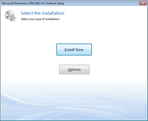 Select Install Now Once the installation is