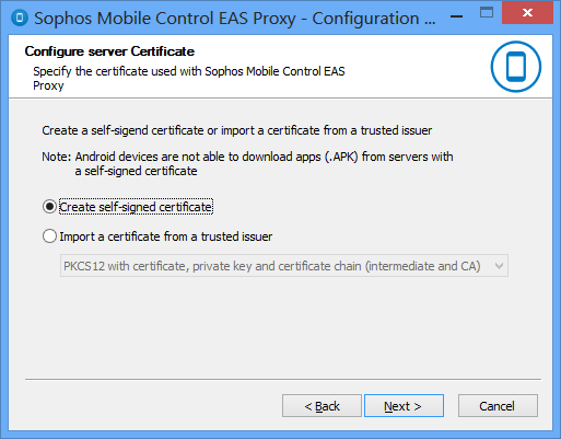 Sophos Mobile Control Installation guide  Product version: PDF