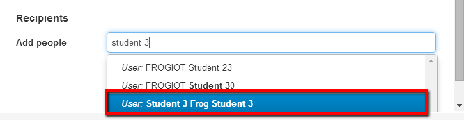 20 You need to enter a name for the assignment. You must now select a subject for your assignment from the drop down list. Add some brief instructions for the assignment here.
