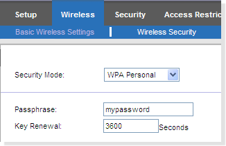 How to find your wireless security key in a Linksys router? 6 1. Open up browser ( Internet Explorer, Mozilla Firefox or Google Chrome, etc.) 2. Type in the address bar http://192.168.1.1 3.