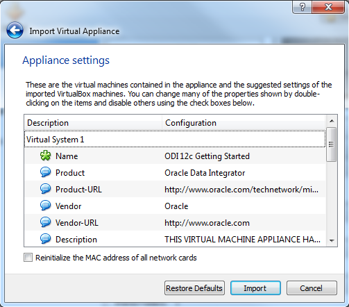 5. Confirm the file selection and click Next. Figure 7 Appliance (VM) confirmation 6.