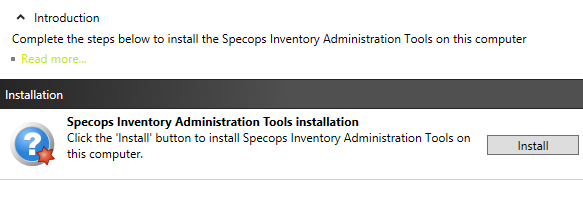Install the Administration Tools Installing the Administration Tools will install the Group Policy Editor snap-in, and the Configuration Tool.