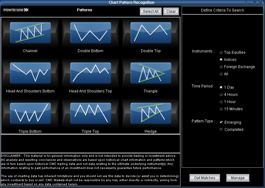 PART 1 The Marketmaker Pattern Recognition Software Once the updated Marketmaker software has been installed on your computer you will notice some additional icons have been added in different spots