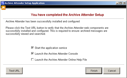 14) After entering the account details for the web application click Next.