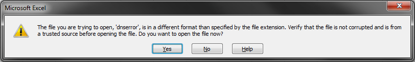 If you clicked 'Open', the file will open