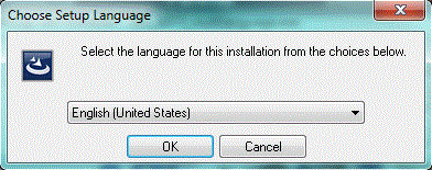 The install window should open.