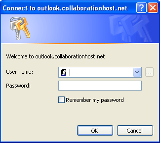 Exchange 2010 Outlook Profile Setup Page 8 of 9 17) Enter your User name and Password and click [OK]. Outlook attempts to communicate with the Exchange server with the settings you have entered.