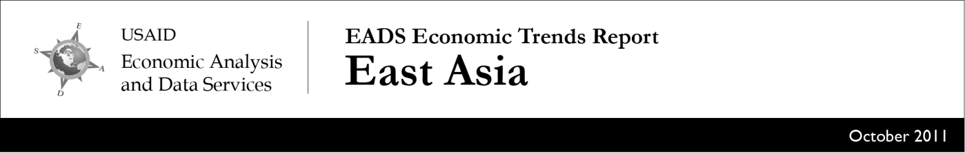Economic Overview Economic growth remains strong in East Asia and retains healthy momentum thanks to strong commodity prices and increases in exports.