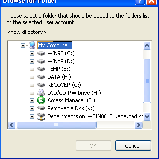 FTP Shared Folders Configuration: Provide the Read & write option ( used for both FTP files uploading and