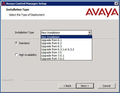 10. Click Finish to complete the Avaya Control Manager installation. 11. Restart the server. This will start all the Avaya Control Manager services.