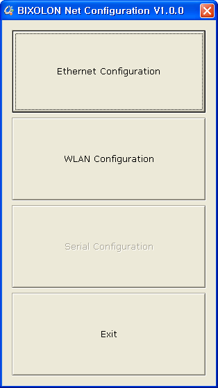 4. Configuration Tool Install SRP-350plusll PSP and excute it.