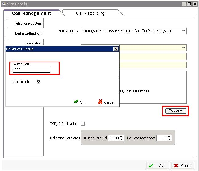 Select IP Server as the Collector and double-click IP Server to select it.