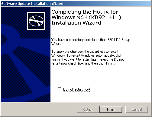 D-12 Installing Windows Server 2003 x64 Editions 5.