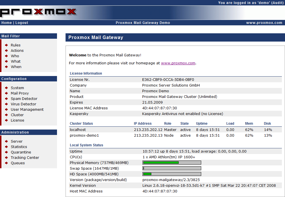 Proxmox Mail Gateway Administration Guide - PDF
