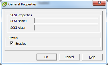 In the General Properties dialog box, verify that the Enabled check box is selected, then click OK. 4.