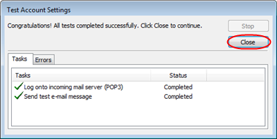 Step 6 Click the Outgoing Server tab then check My outgoing server (SMTP) requires authentication and Use same settings as my incoming mail server.