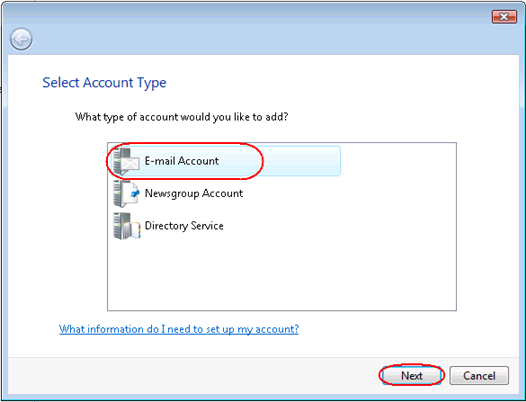 Set up Windows Live Mail Step 1 Open Windows Live Mail. Click Tools, then Accounts in the drop down menu.