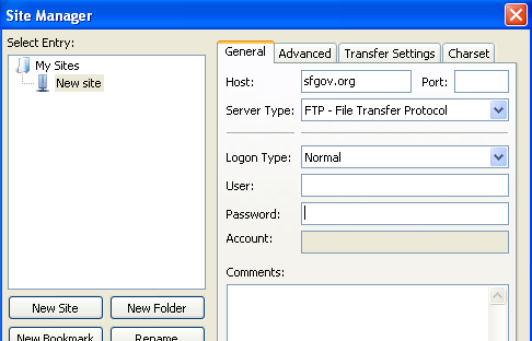 Managing Attachment Documents with FTP Software Setting up the FTP software For uploading and managing documents used on your web site, you will need a File Transfer Protocol (FTP) program.