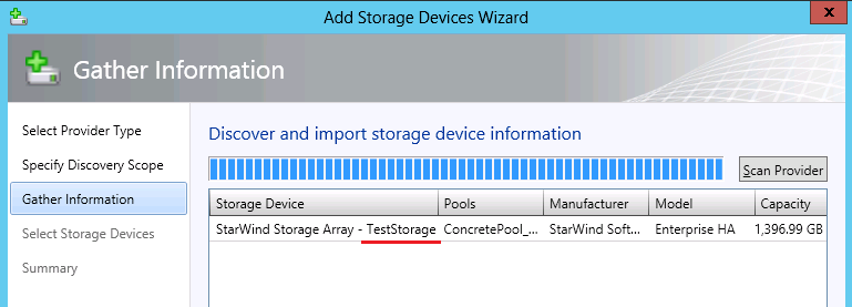 Note: By default, there is no password to access StarWind SMI-S Agent. To change these settings, modify the cimserver_planned.conf file located in the installation folder of StarWind SMI-S Agent.