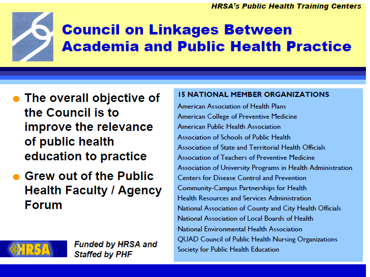 Core Competencies for Public Health Practice Lessons Learned