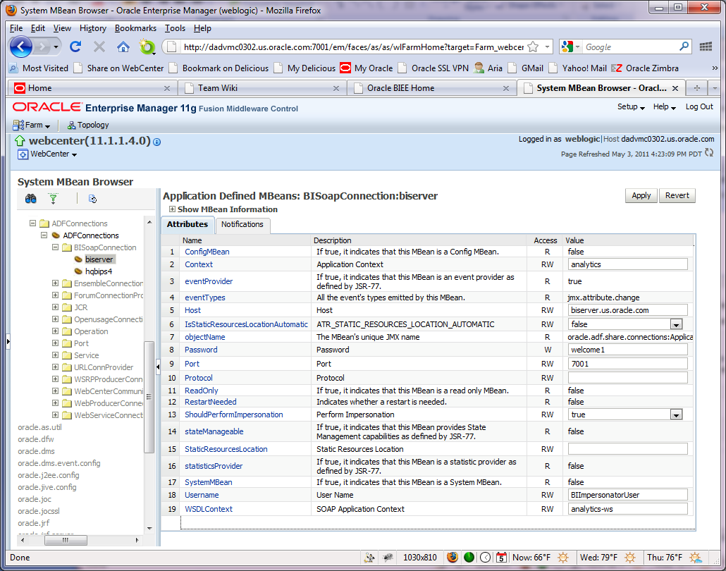 Insert Picture Here> Oracle WebCenter Spaces and Oracle BI