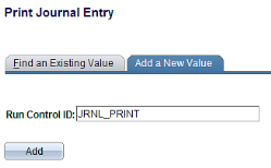 6. Printing Posted Journals Journal Entry Reprint is a report that lets you print your journals even after they are posted.
