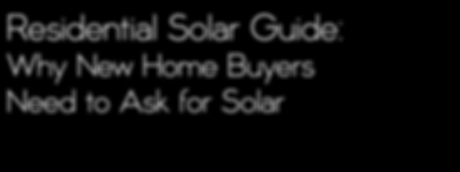 Residential Solar Guide: Save 70%