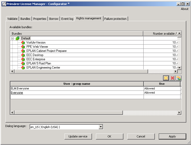 EPLAN License Manager Installation Instructions  Version PDF