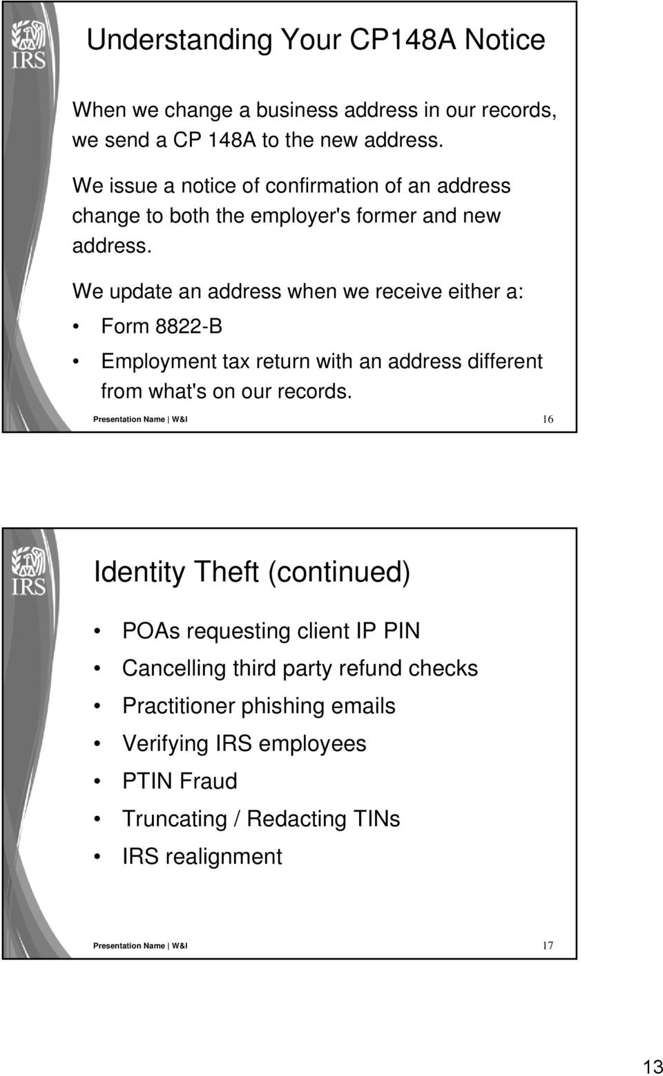 Tax-Related Identity Theft: IRS Efforts to Assist Victims and Combat ...