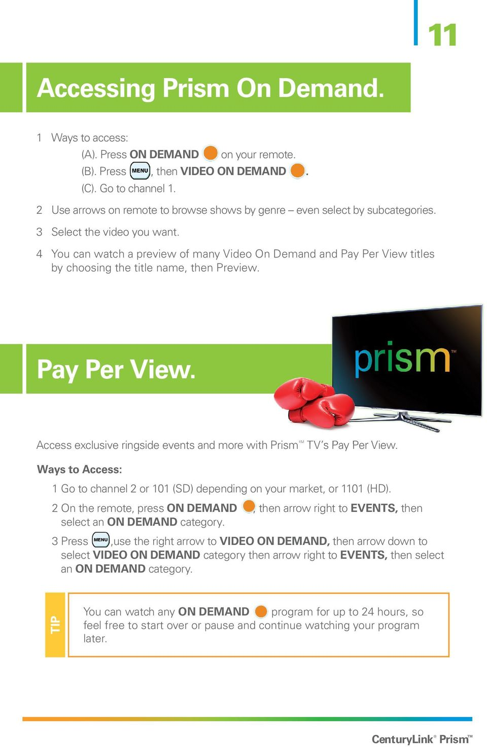A look through the prism of popular channels
