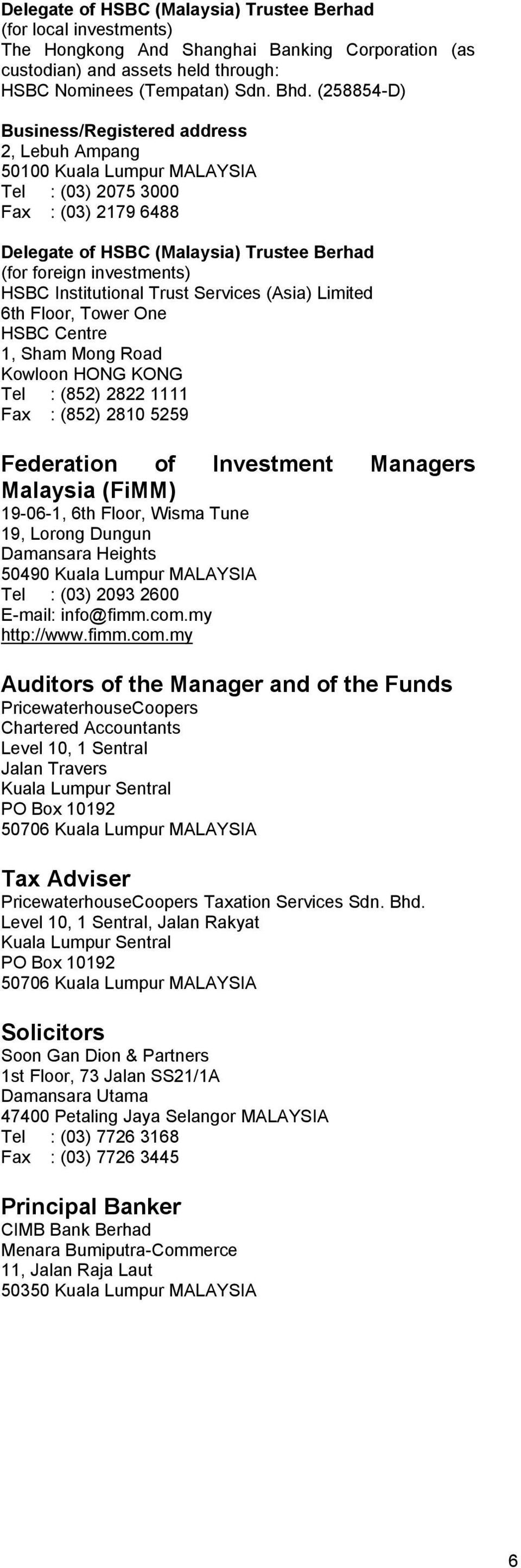 Thank you for considering an investment with CIMB-Principal