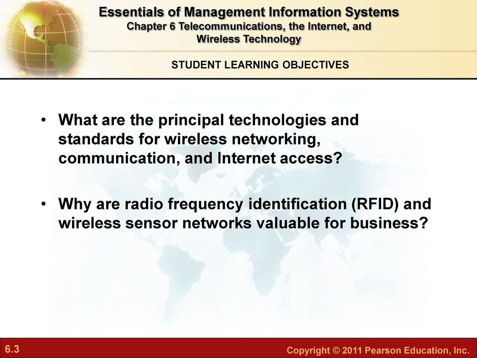 Why are radio frequency identification (RFID) and wireless sensor